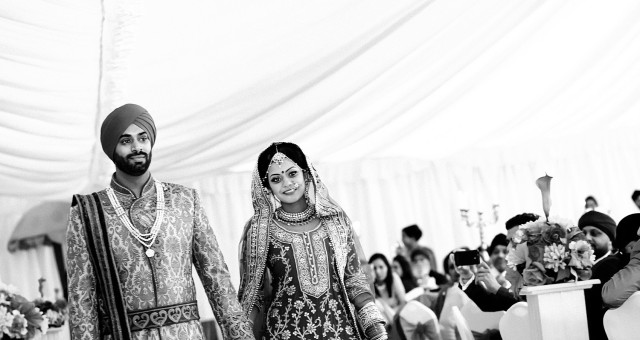 Sikh Wedding Photography in Leamington Spa - Sukh and Sumeet